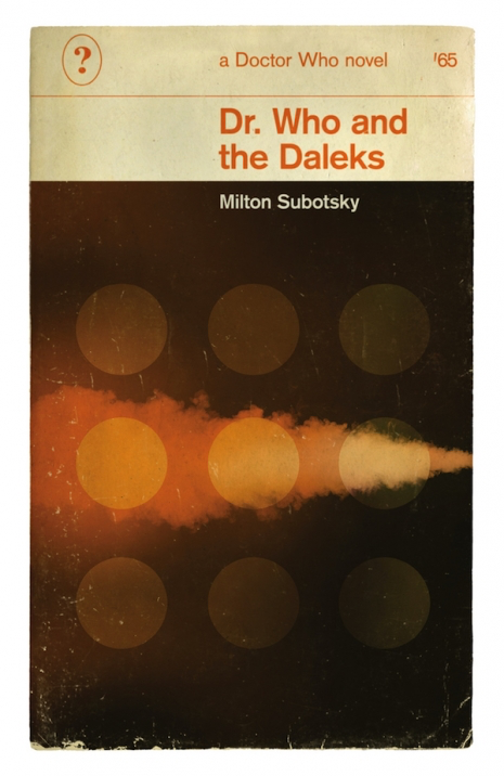 Doctor Who and The Daleks book cover